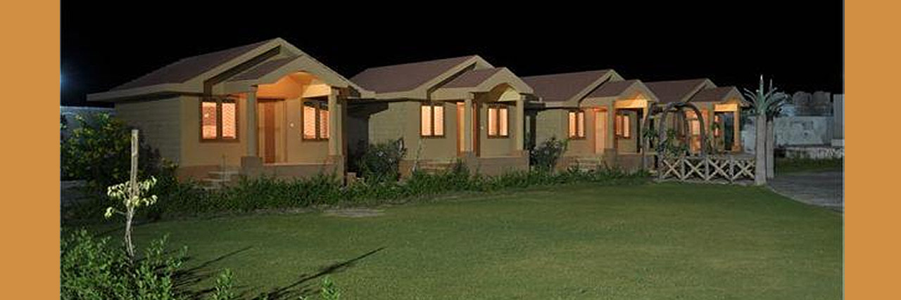 Rishab Club & Resort - Outside Huts..Barmer